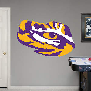 LSU - Eye of the Tiger Logo Fathead Wall Decal
